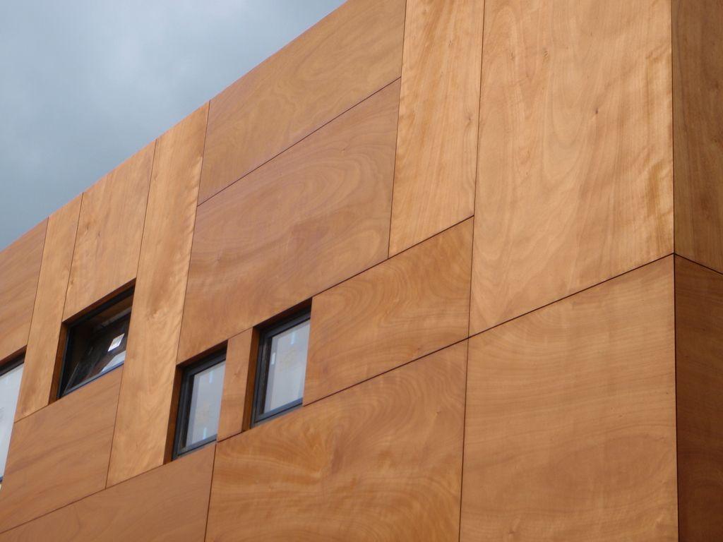 Варианты фото отделка фасада дома профлистом ламинатом