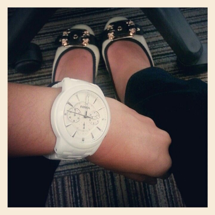 Watch and shoes!