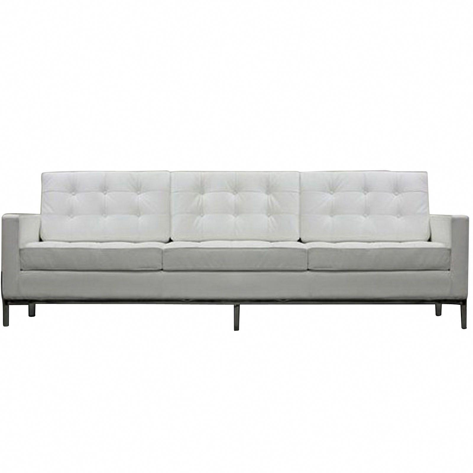 Bateman White Leather Sofa A Few Black Leather Sofa Ideas In