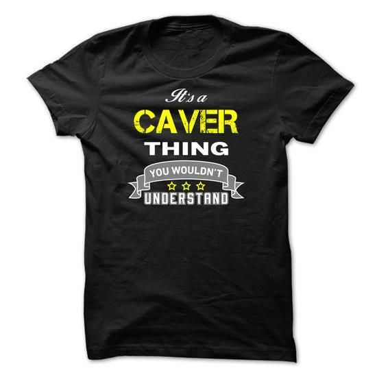 Its a CAVER thing. - #pink shirt #black tee. WANT IT => https://www.sunfrog.com/Names/Its-a-CAVER-thing-338C7F.html?68278