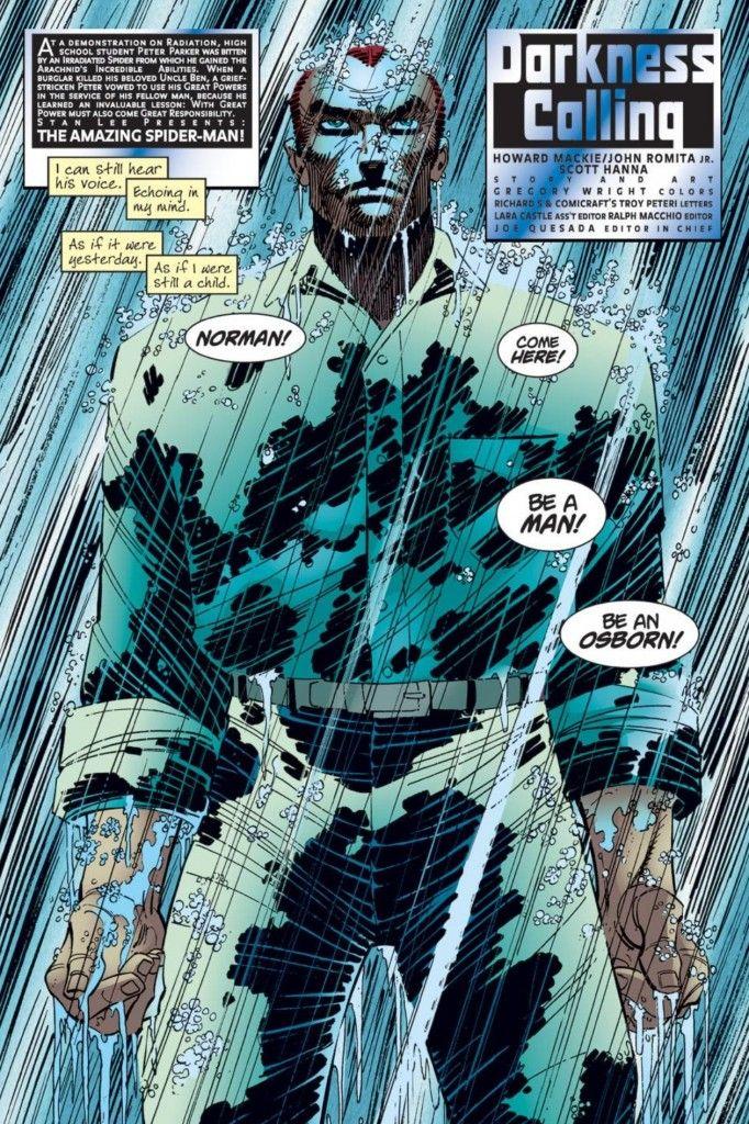 Norman Osborn in Amazing Spider-Man #25 (vol. 2) by John Romita Jr