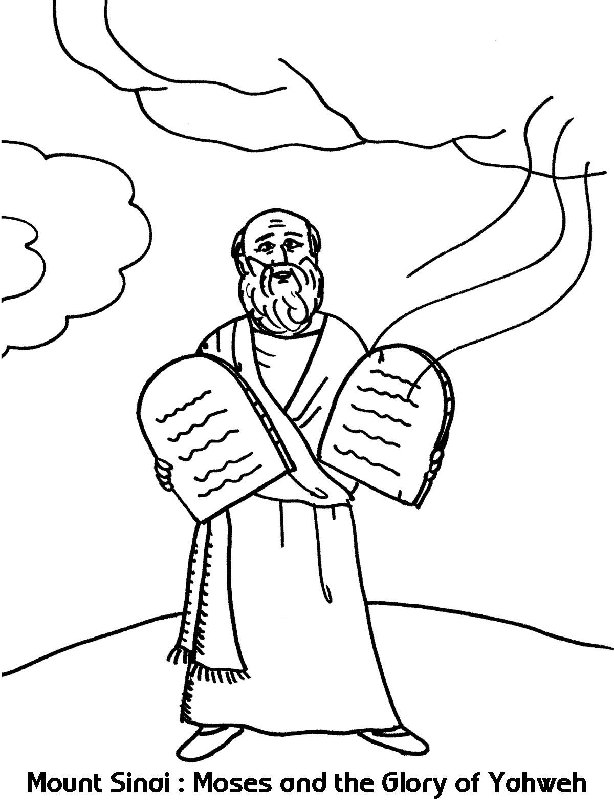 Har Sinai Coloring Pages Download Coloring Pages Coloring For Kids Print Buttons