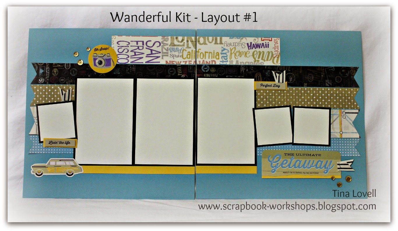 How to make scrapbook kits