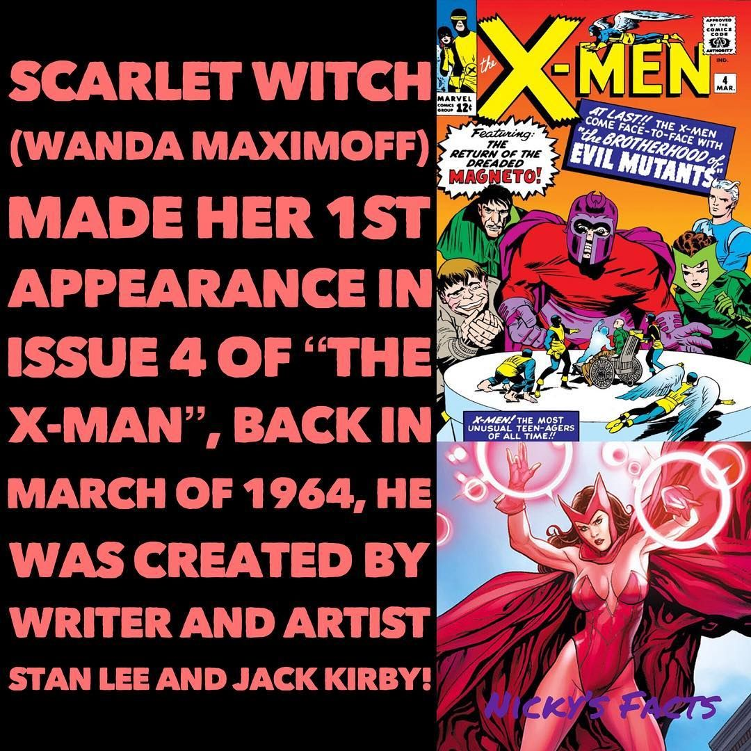 I Wonder Once The X Men Join The Mcu If It Will Be Revealed That Magneto Is Her Father Scarletwitch Marvelcomics Wandamaxim X Men Magneto Scarlet Witch