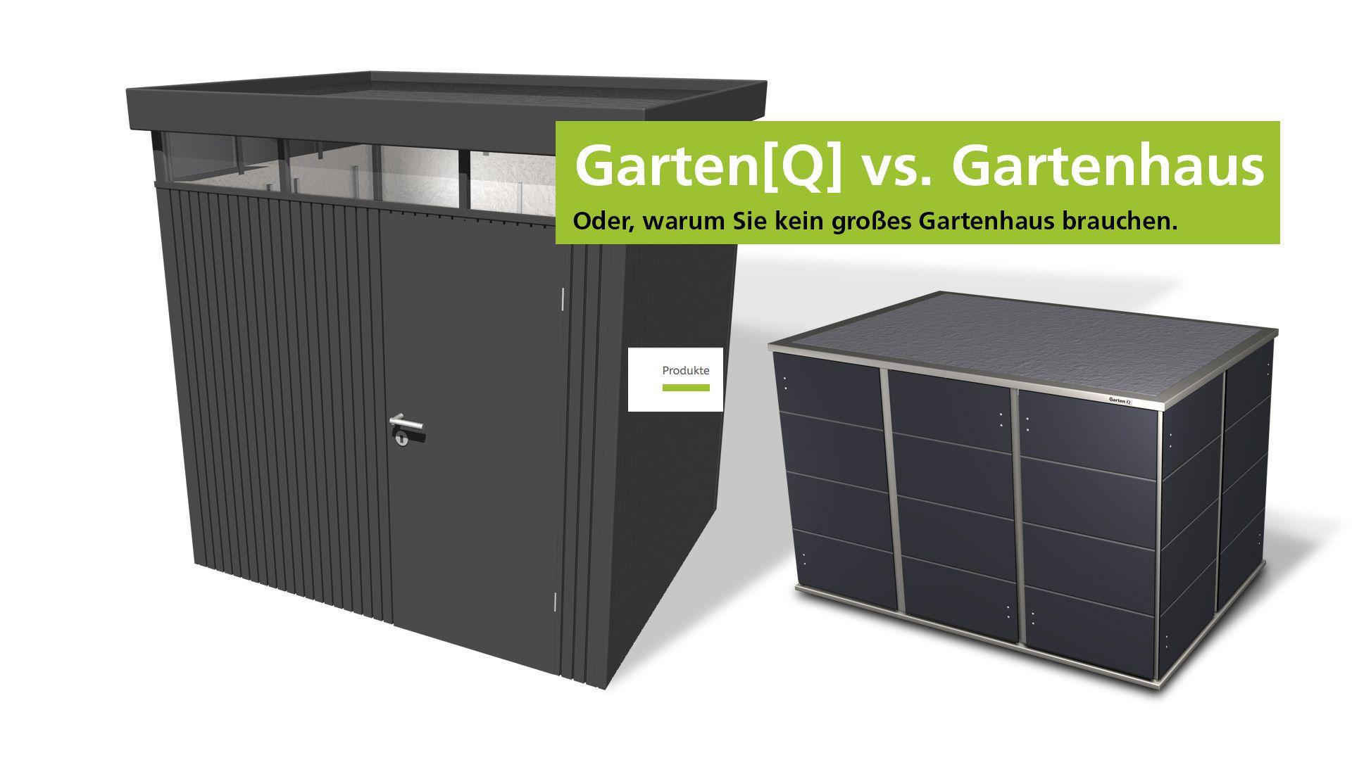 Gartenhaus Oder Garten Q Warum Man Kein Grosses Geratehaus Fur Seinen Garten Braucht Video In 2020 Gartenhaus Gartenhaus Flachdach Modern Schliessfacher