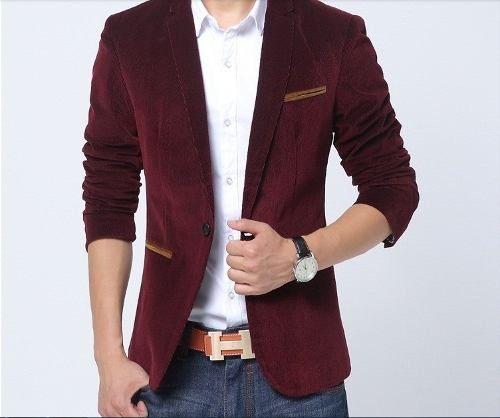 blazer masculino importado de veludo esportivo frete grátis ... c24d3672ed7f2