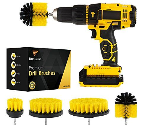 Top 9 Best Scrubbing Drill Brush Sets For Cleaning In 2020