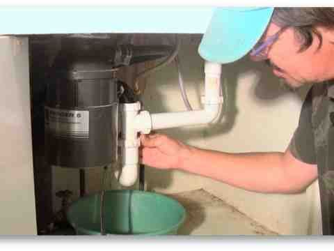 How To Fix A Garbage Disposal Leaking Garbage Disposal With Images Garbage Disposal Garbage Disposal Repair Fix Garbage Disposal