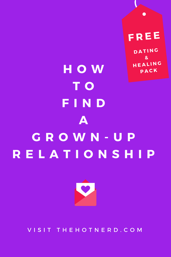 Dating Advice For Grown Ups