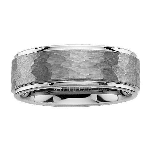 Popular Fred Meyer Jewelers mm Triton Tungsten Carbide Wedding Band Hammered This is one option for