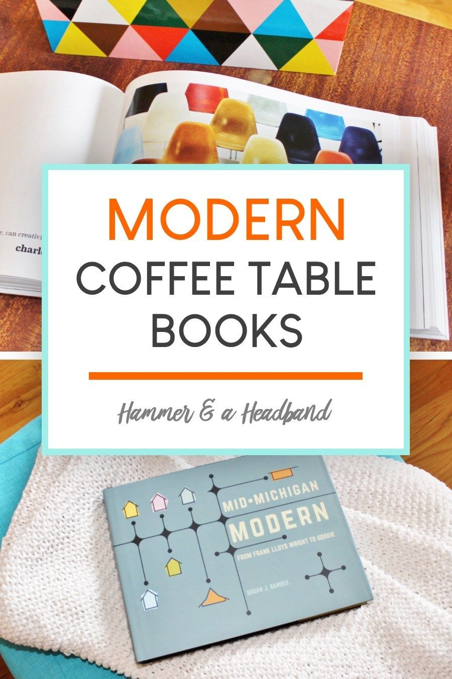 Displaying gorgeous coffee table books is one of the quickest ways to give your living room a design boost. Even better if you add books about design, like these favorites featuring mid-century icons, Palm Springs style inspo and more retro fun. Here are 24 great coffee table books, plus tips to help you style your modern coffee table. #homedecor #midcenturymodern #coffeetablebooks