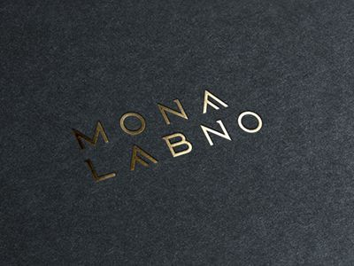 MONA Fonts Typographic logo, Graphic design branding, Logo design