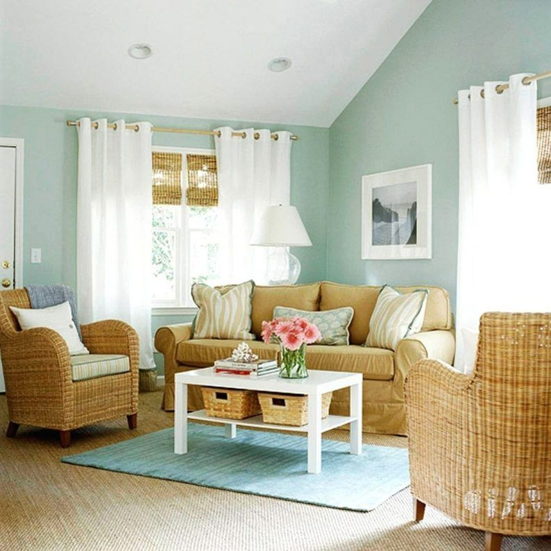 Tan And Blue Living Room Ideas Calming Color Schemes Beige Fabric Simple Carpet Grey Floral Fur Living Room Color Schemes Blue Living Room Living Room Color #relaxing #color #for #living #room