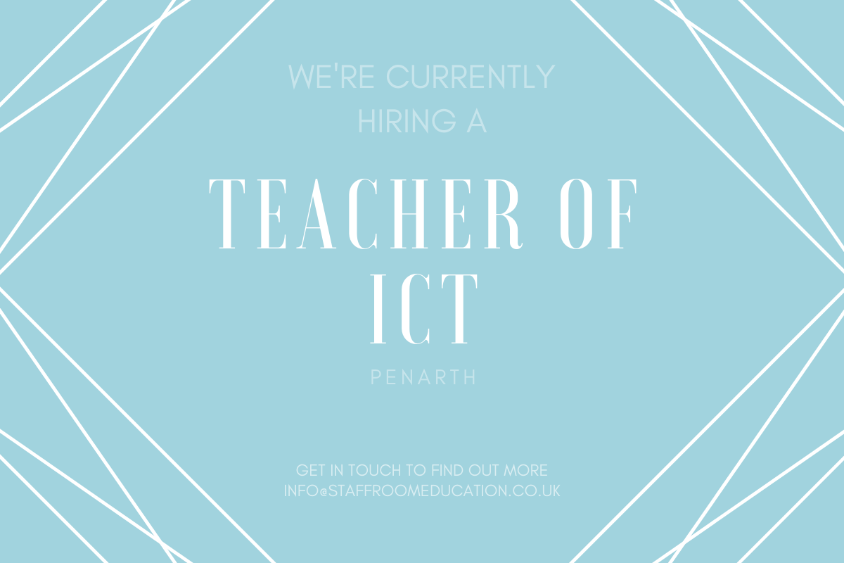 ICT Teacher in Penarth Teacher technology, Teacher
