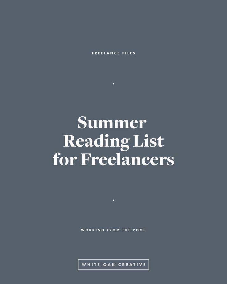 Summer Reading List for Creatives and Entrepreneurs