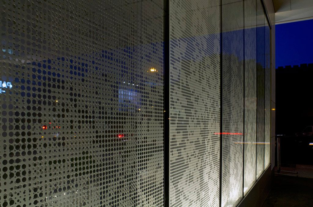 Facade Ideas Metal Signage Perforated Metal Panel