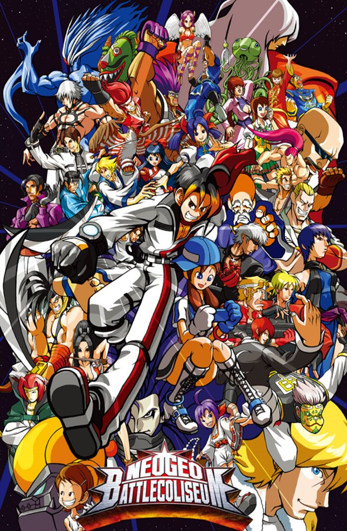 Character Poster Characters Art Neogeo Battle Coliseum Snk Playmore Poster Art Art Of Fighting