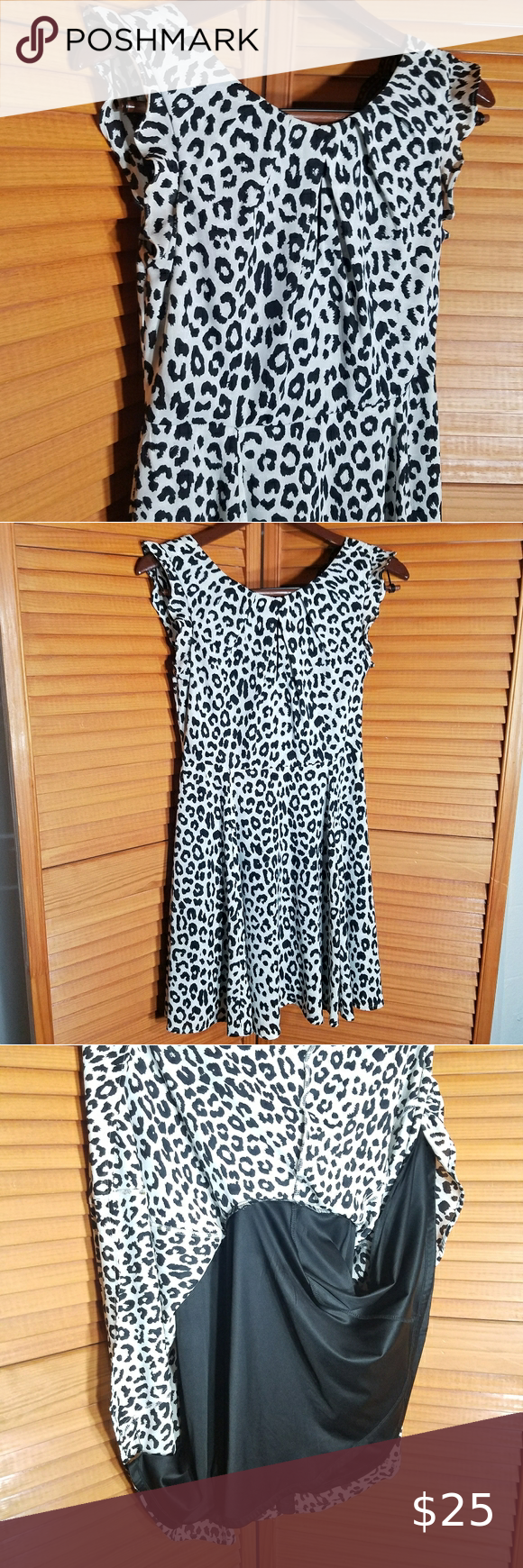 Express Black White Leopard Print Mini Dress Printed Mini Dress Black White Mini Dress White Leopard [ 1740 x 580 Pixel ]