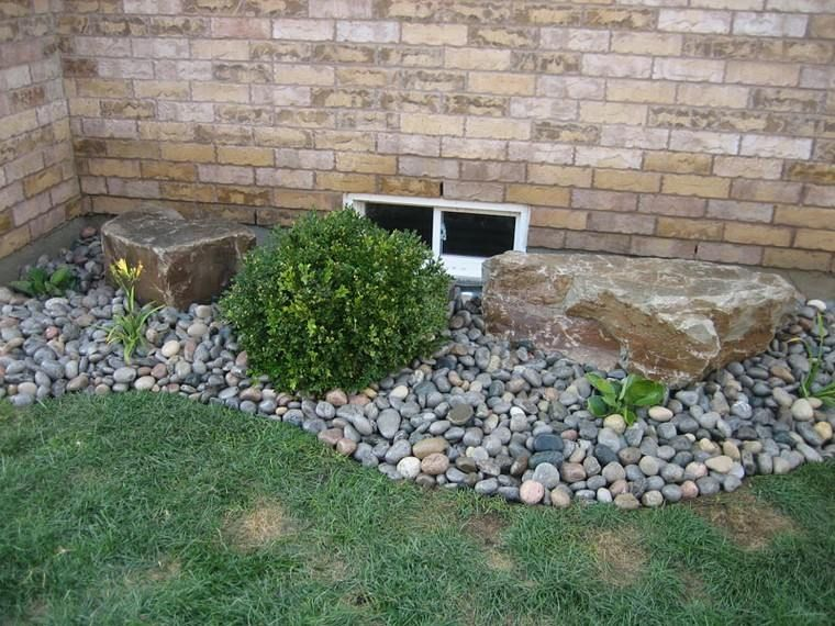 modèle de jardin avec galets idées déco | exterieur | Roche ...