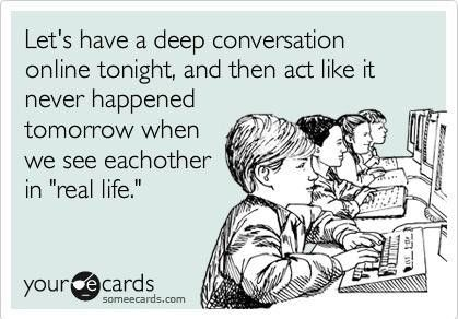 sad and awkward, but true