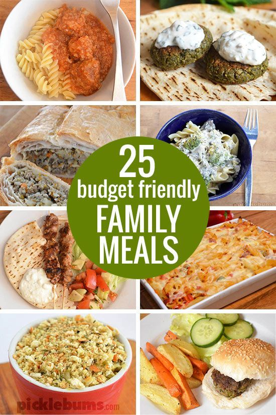Budget Friendly Family Dinners Home Cooked Meals Pinterest
