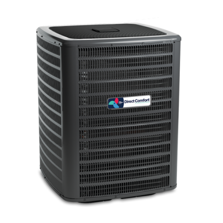 Hvac Direct Comfort By Goodman Dc Gsx Series Split System Air Conditioner 2 1 2 Ton 14 Seer 12 2 Eer 208 230v Heat Pump Heat Pump System