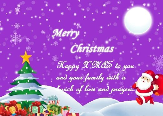 Christmas Wishes For Family  Merry Christmas Wishes  Images