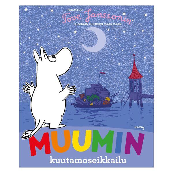 """Finnish language edition.Muumiperhe purjehtii kuun valossa Yksinäiselle Saarelle. Matkan aikana Muumipeikko tekee hienon löydön, jota kaikki ihailevat vielä leirinuotiollakin.  Jos et vielä ole tavannut Muumeja, luvassa on uutta ja taikamaisen hauskaa…  """"Pi-hoo! On hieno päivä seikkailla!""""  Muumilaaksossa on satanut päiväkausia. Nyt aurinko paistaa taas, ja Muumipeikko on innoissaan - he aikovat purjehtia Yksinäiselle Saarelle etsimään aarretta! Mutta kun he vihdoin ovat valmiita lähtöön, on…"""