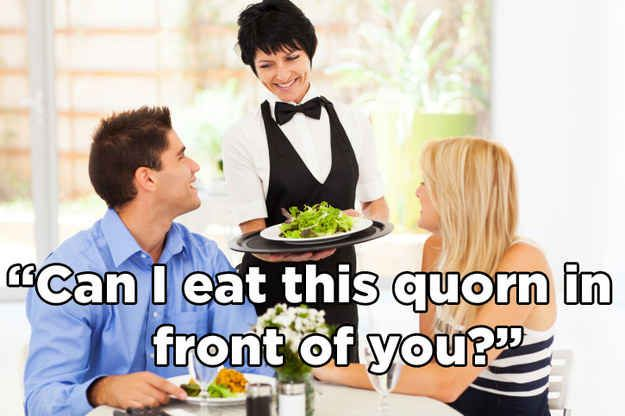 If we talked about meat eaters the way we talk about vegetarians