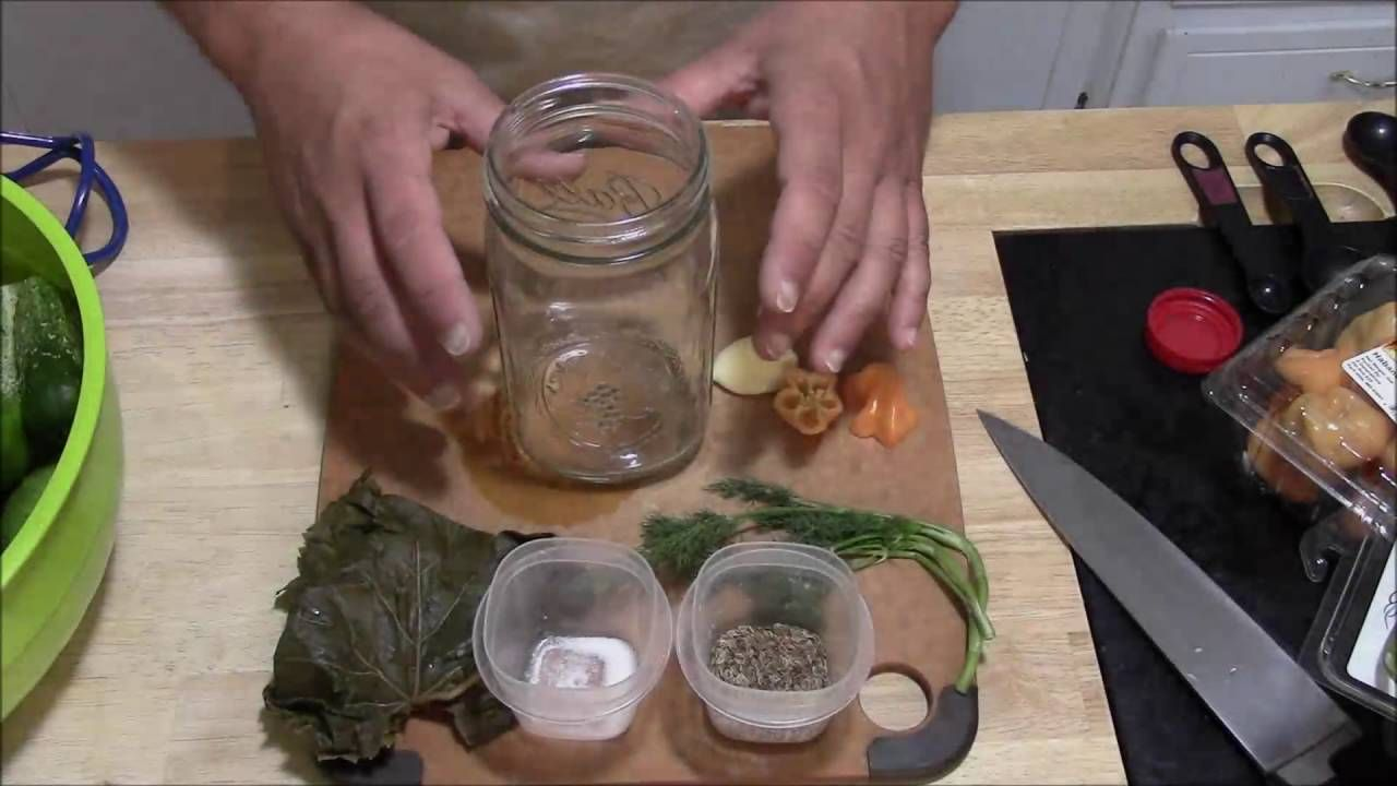 How to Make Pickled Cucumber, Pickled Zucchinni or Pickled Okra