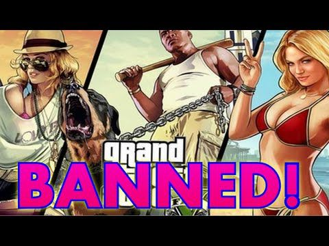 Ban the Bible, or GTA5?