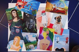 MOBA Masterworks Postcards