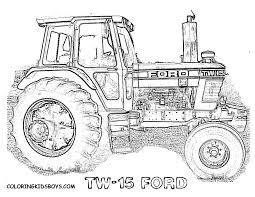 tractor colouring pages search malvorlagen
