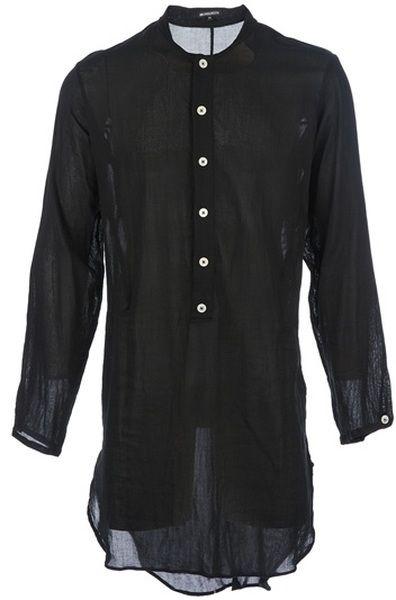 eede06f7150 Oversize Grandad Shirt - Lyst