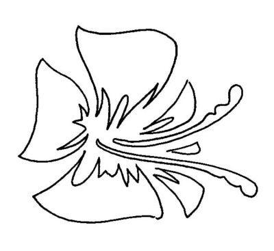 Plantillas De Flores De Stencil Gratis Decoracion