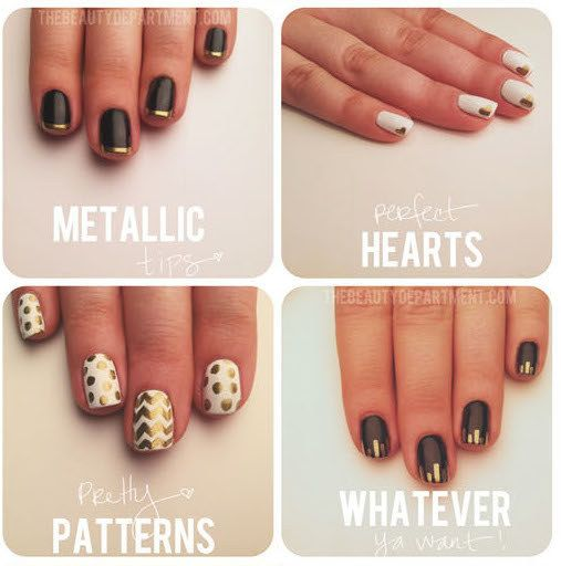 Use A Gold Sharpie To Make All Kinds Of Easy Designs Diy Get