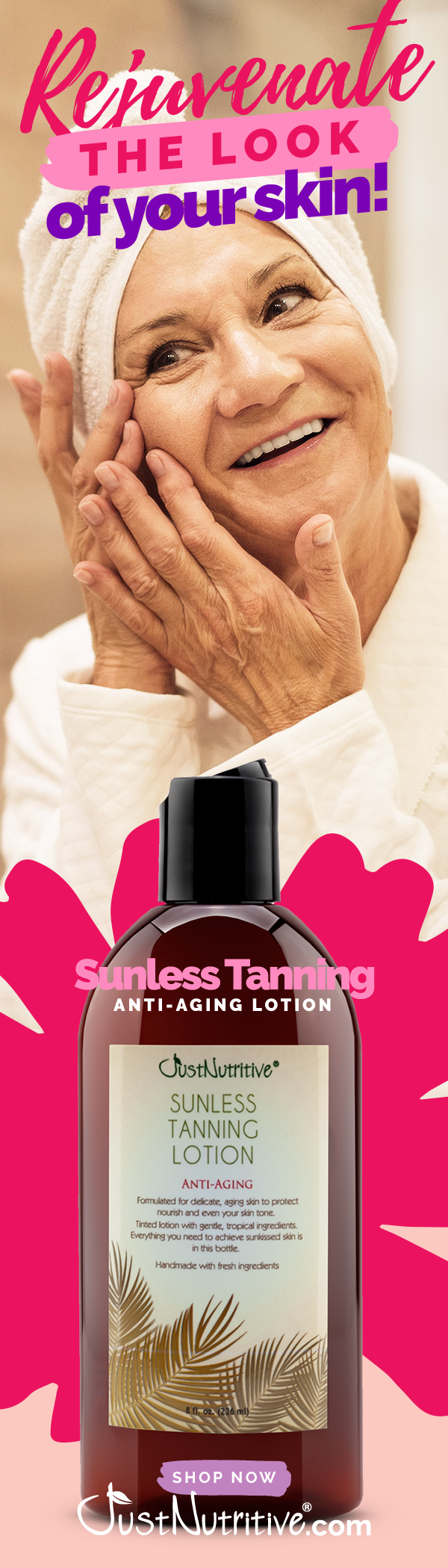 Sunless Tanning AntiAging Best tanning lotion, Anti