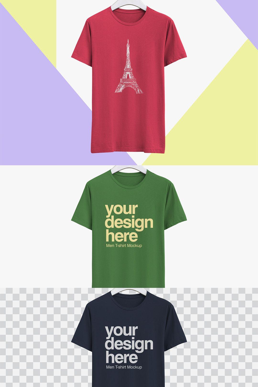 Download Free Realistic T Shirt Mockup Shirt Mockup T Shirt Tshirt Mockup