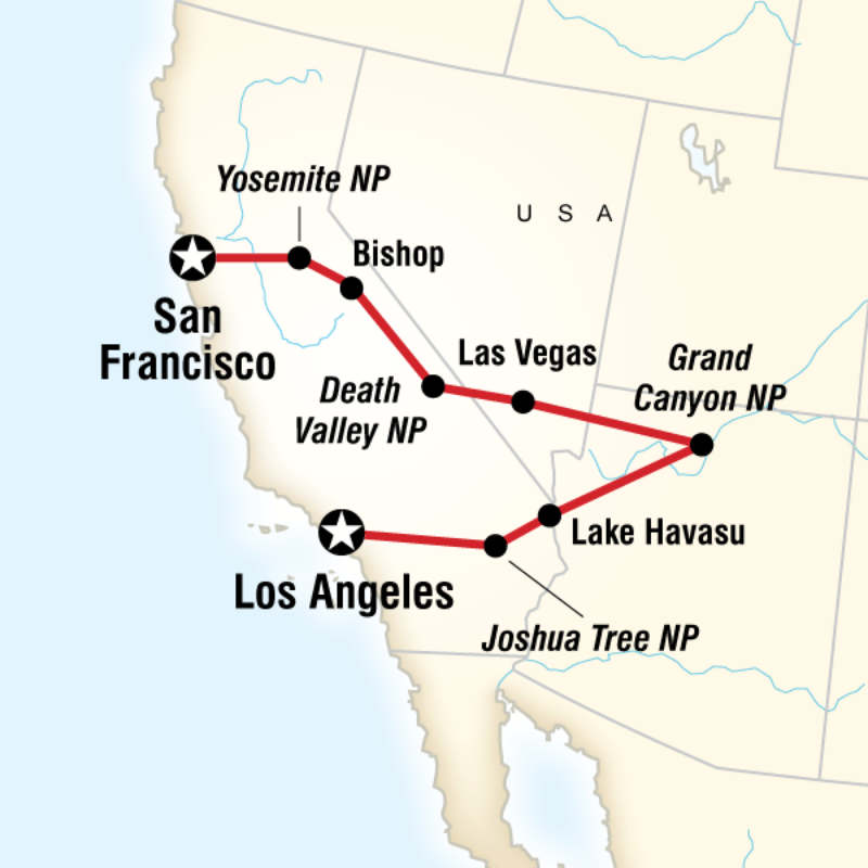 Map Of The Route For Usa Travel Map Road Trip Usa Usa Road Trip Map