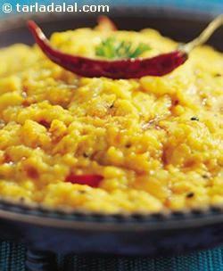 'Dal-Tadka' Recipe; by Tarla Dalal