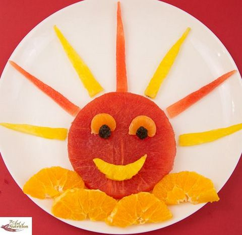 You are the sunshine of my life!  Fun and healthy food for kids!