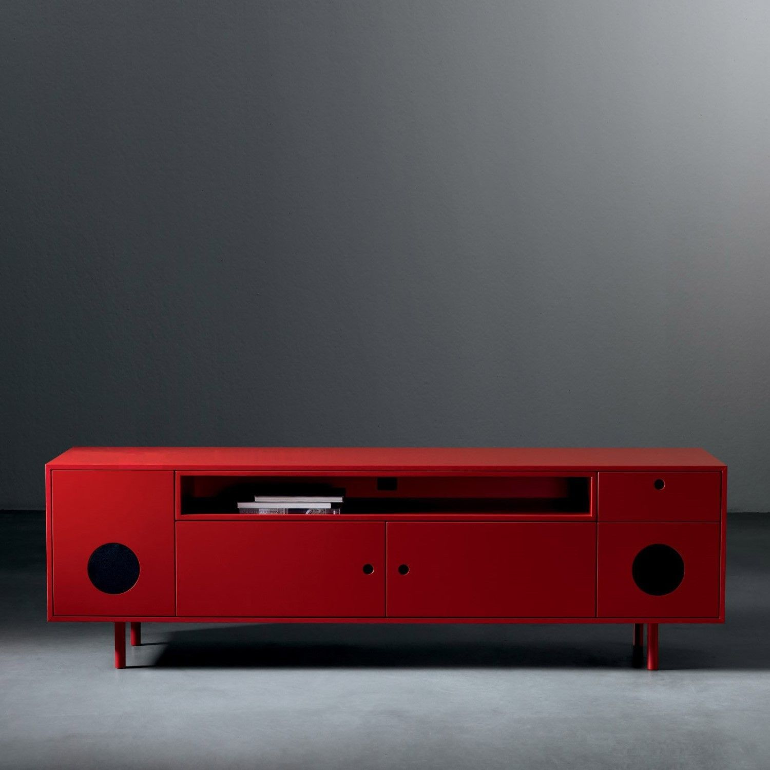 Caixa Tv Stand Cabinet With Built In Speakers Tv Stand Cabinet Build A Tv Stand Fantastic Furniture