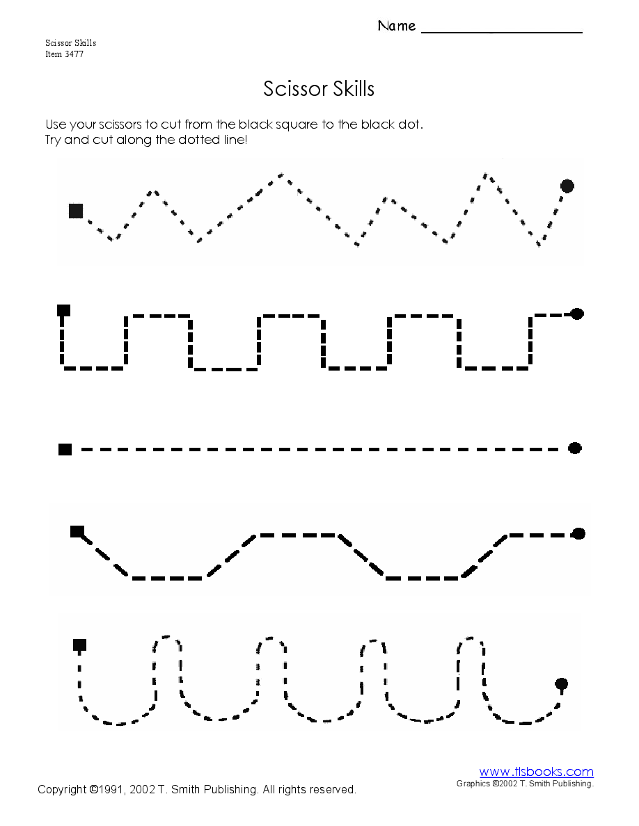 This is a graphic of Striking Printable Cutting Practice