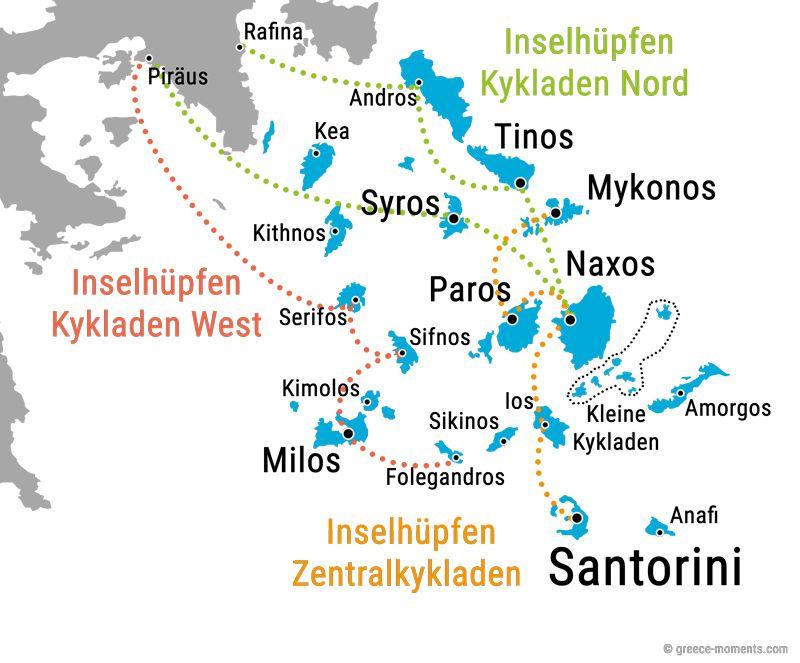 Inselhopping Griechenland Inselhopping Griechenland