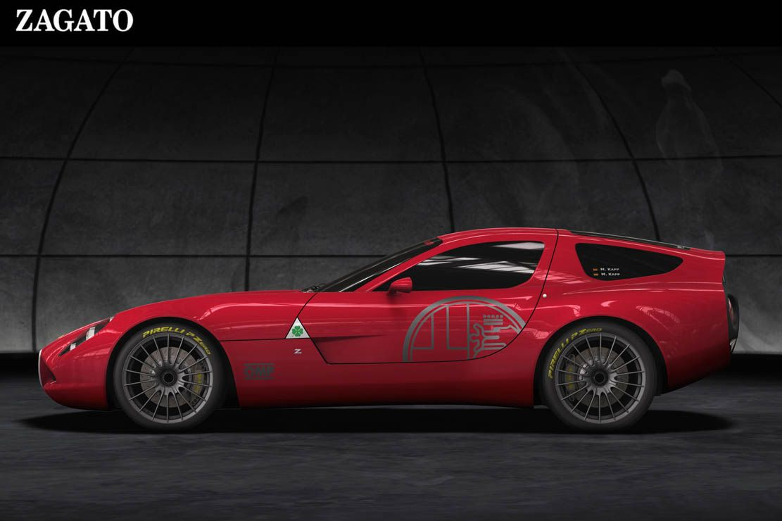 Alfa-Romeo-TZ3 Zagato-eleganza Alfa-Romeo-TZ -