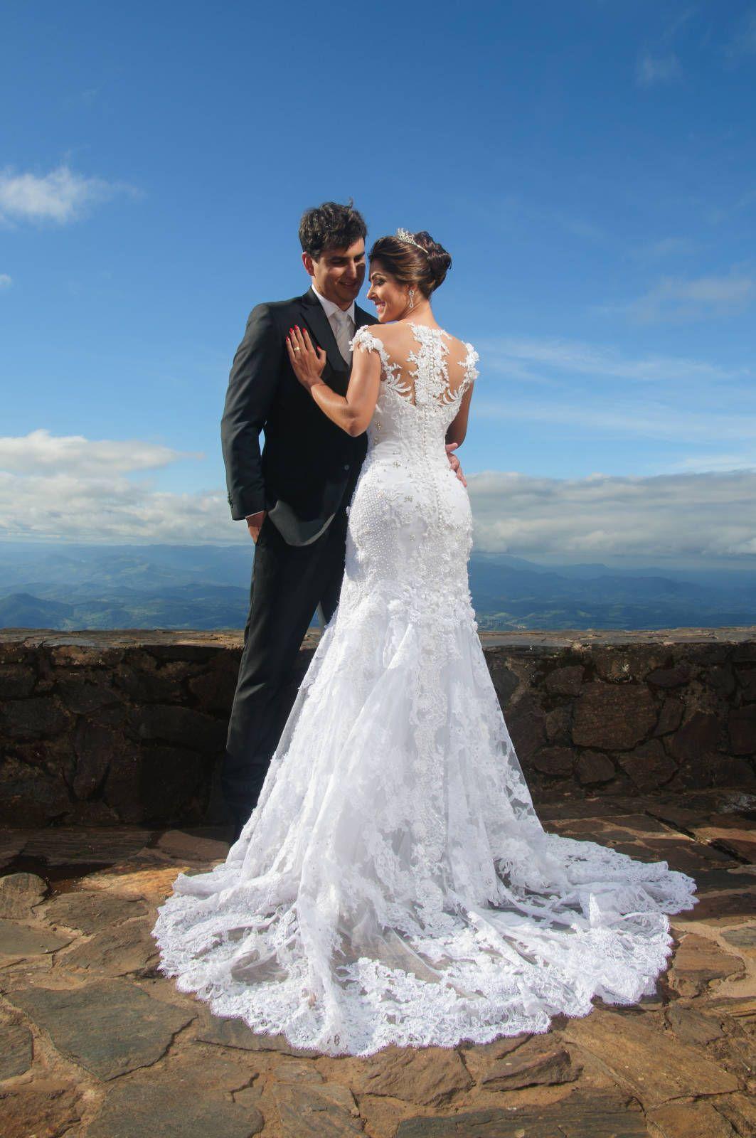 Vestido de noiva exclusivo, do estilista das misses, Alexandre Dutra ...