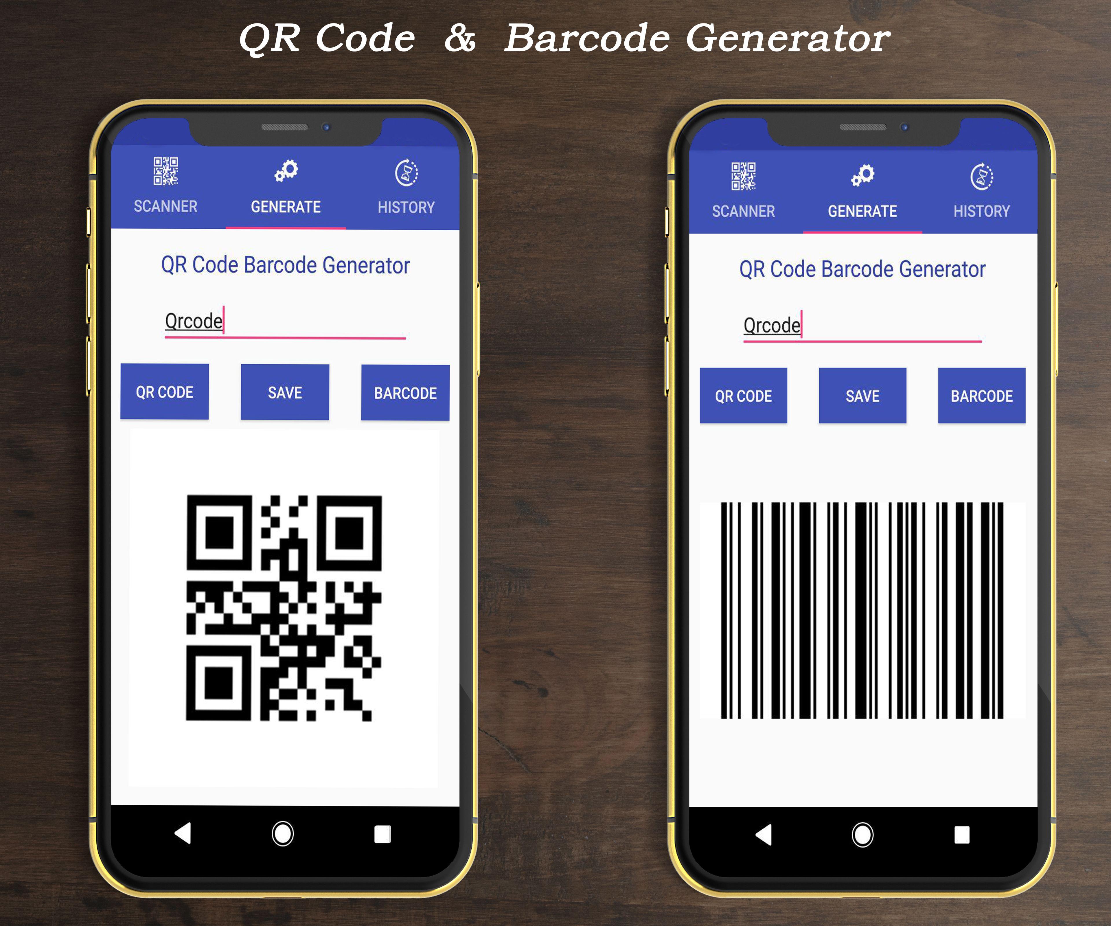 android app qr scanner barcode App, Scanner