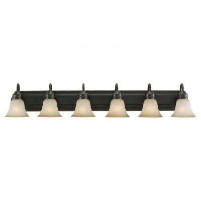 Gladstone 6 Light Heirloom Bronze Vanity Fixture | Dads Bathroom Ideas. |  Pinterest | Gladstone, Vanities And Lights