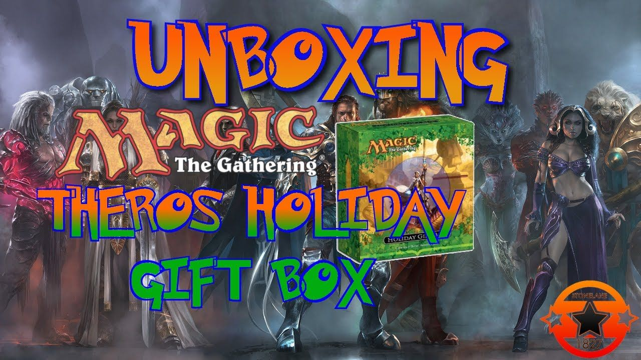 #MTG #Theros Holiday Gift Box Unboxing #MTGTHS