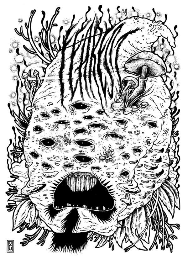 2012 Illustrations - Part I by Kamil Czapiga, via Behance